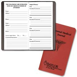 promotional personal medical journal